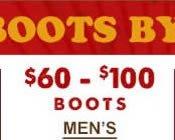 Mens Boots $60-$100