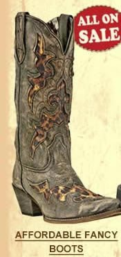 Affordable Fancy Boots