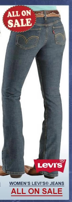 All Womens Levi Jeans