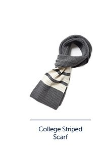 College Striped Scarf