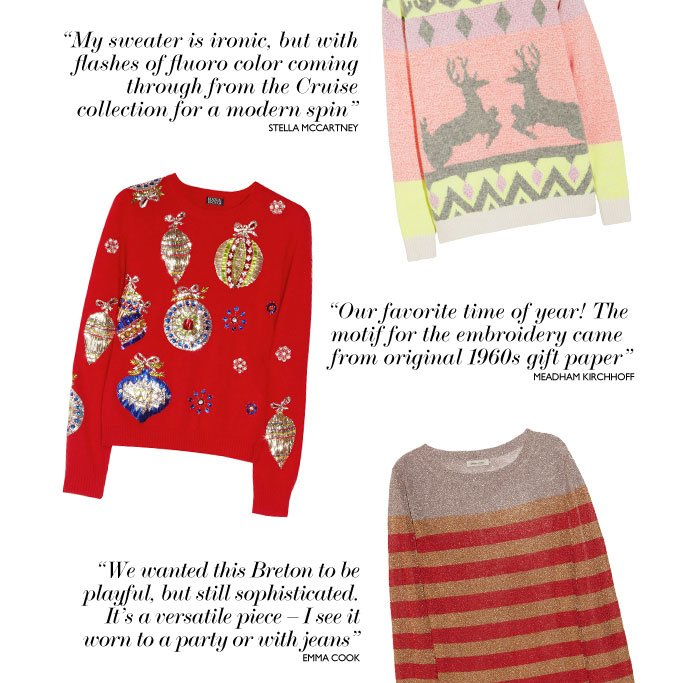 SHOP HOLIDAY SWEATERS NOW