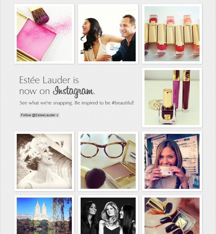 Estée Lauder is now on Instagram. See what we're snapping. Be inspired to be #beautiful! Follow @EsteeLauder ›