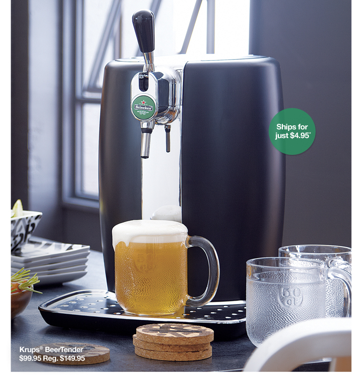 Krups® BeerTender $99.95 Reg. $149.95