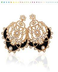 Valetta statement earrings