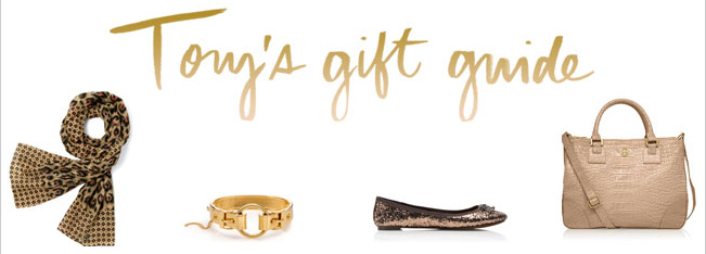 TORY'S GIFT GUIDE