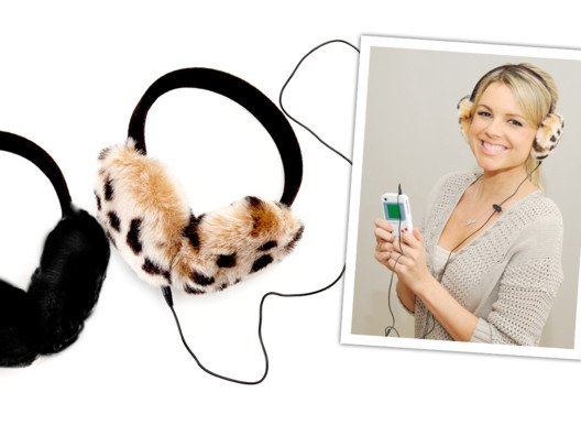 I love these ingenious Hearmuffs--they pull double duty as headphones!