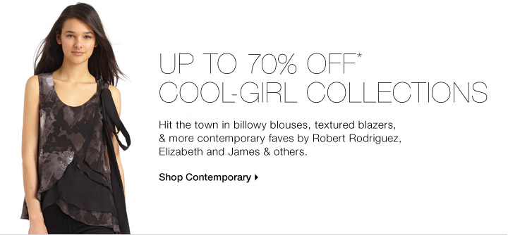 UP TO 70% OFF* COOL-GIRL COLLECTIONS