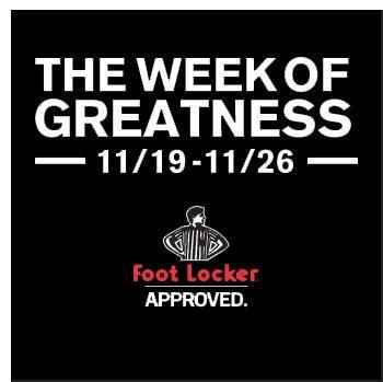 Week of Greatness