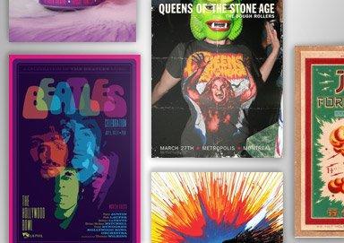 Shop Concert Posters