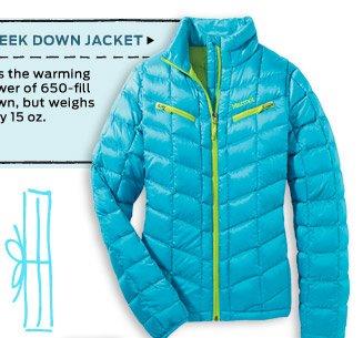 Sleek Down Jacket >