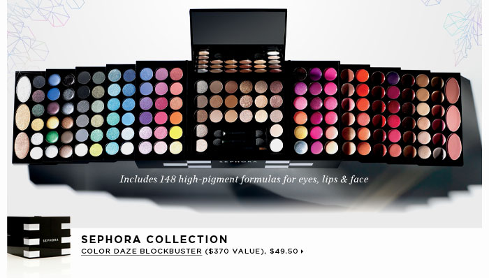 new . limited edition. SEPHORA COLLECTION Color Daze Blockbuster ($370 Value), $49.40