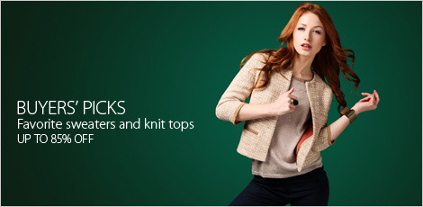 Buyers picks favorite sweaters and knit tops