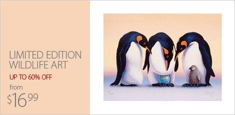 limited edition wildlife art