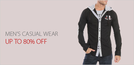 Men's Casual Wear (Shirts, Jeans, & More)