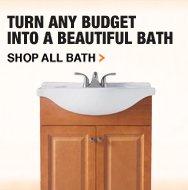 Turn any budget into a beautiful bath