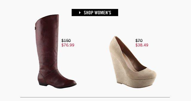 SHOP WOMEN www.aldoshoes.com/us/sale/women