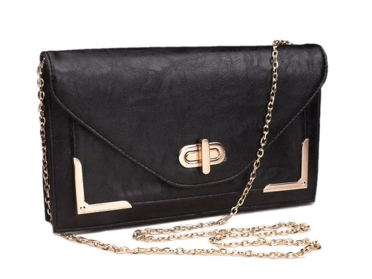 This great bag can be worn casually or dressy so it's super versatile…and the gold accents make it special.
