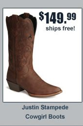 Justin Stampede Cowgirl Boots