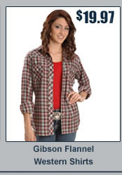 Gibson Flannel Western Shirts