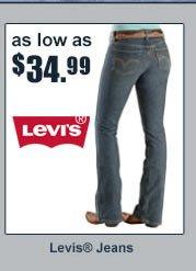 $34.99 Levi's