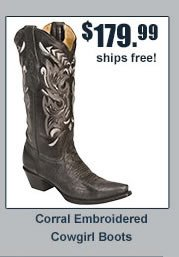 Corral Embroidered Cowgirl Boots