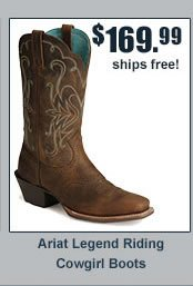 Ariat Legend Riding Cowgirl Boots