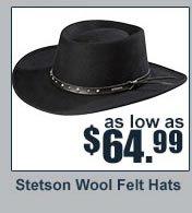 Stetson Wool Felt Hat