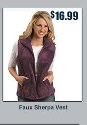 Faux Sherpa Vest