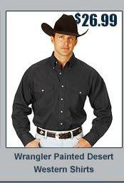 Wrangler Painted Desert Western Shirts
