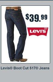 Levi's Boot Cut 517