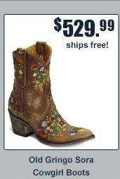 Old Gringo Sora Cowgirl Boots