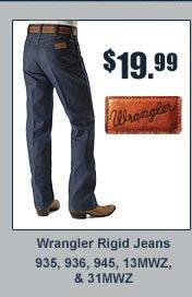$19.99 Wrangler Rigid