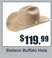 Stetson Buffalo Hats