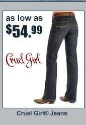 $54.99 Cruel Girl
