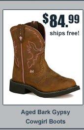 Justin Aged Bark Gypsy Cowgirl Boots