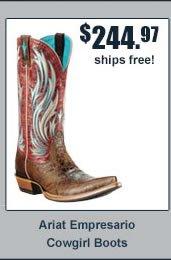Ariat Empresario Cowgirl Boots