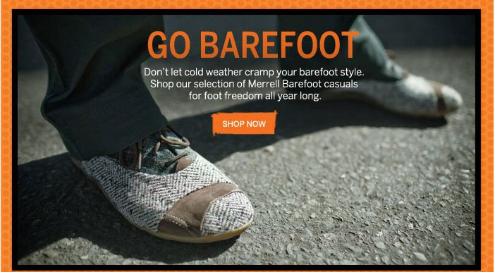 Go Barefoot