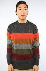 The Burbank Sweater in Heather Black