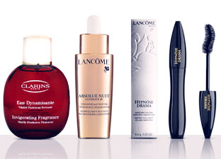 Mixed Beauty: Lancome, Clarins