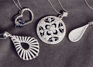 Silver Weekend: Necklaces