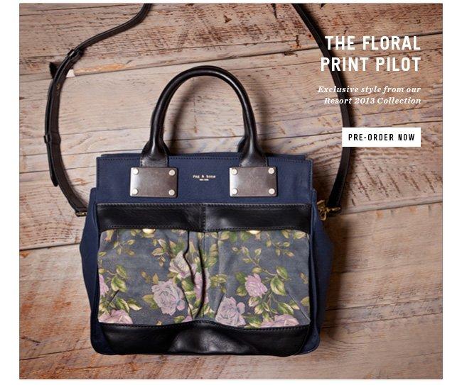floral print pilot