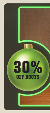 30% OFF BOOTS