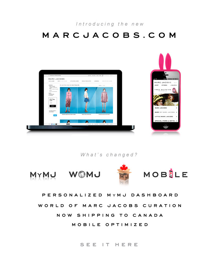 The new marcjacobs.com
