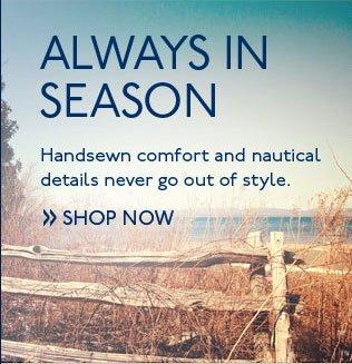Always in Season Shop Now