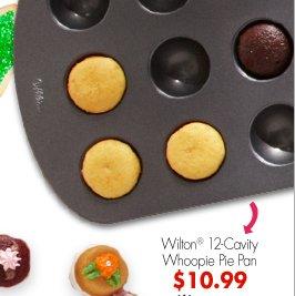 Wilton® 12-Cavity Whoopie Pie Pan $10.99