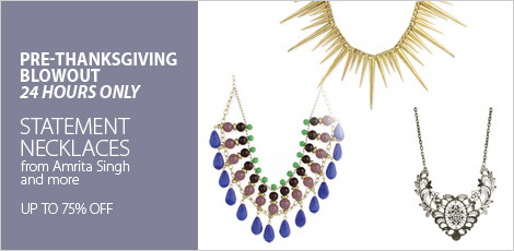 Statement necklaces and more