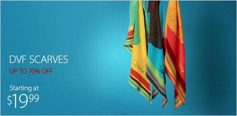 DVF scarves