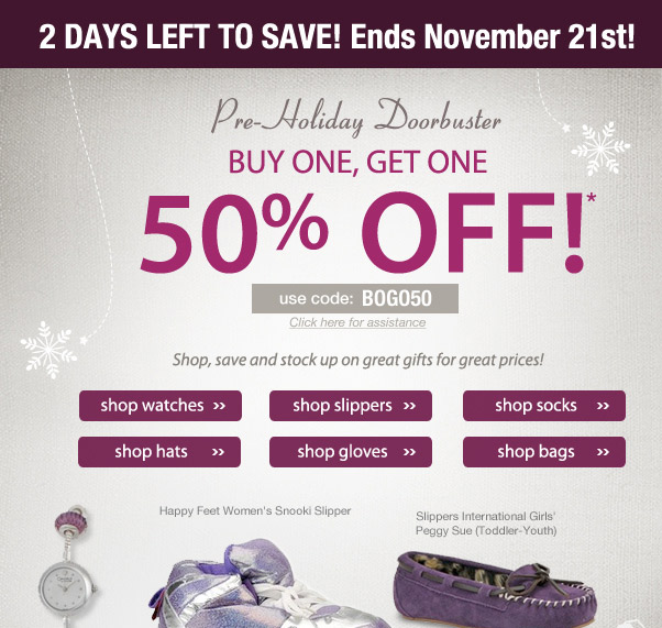 2 Days Left to Save!