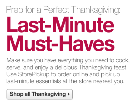 Prep for a Perfect Thanksgiving:  Last-Minute Must-Haves