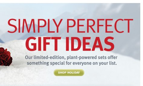 simply perfect gift ideas. shop now.